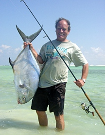 Look what you can catch in Bonaire's salt flats!